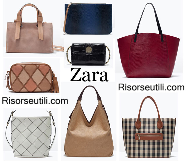 Fashion designer handbags Zara spring summer