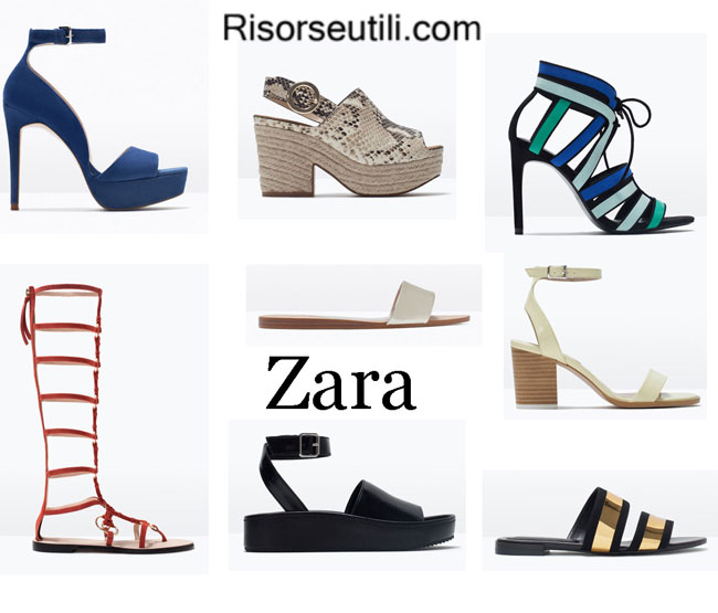 Fashion designer shoes Zara spring summer 2015