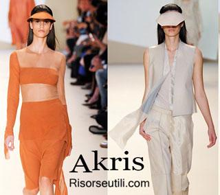 Fashion dresses Akris spring summer 2015 womenswear