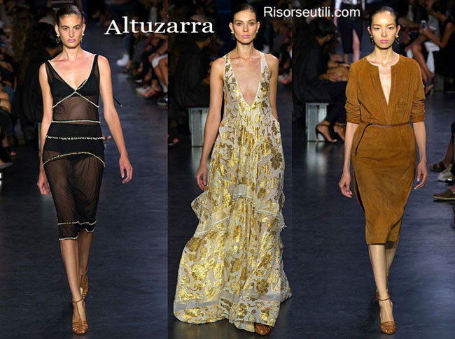Fashion dresses Altuzarra spring summer 2015