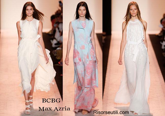 Fashion dresses BCBG Max Azria spring summer 2015