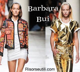 Fashion dresses Barbara Bui spring summer 2015 womenswear