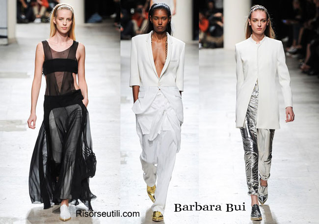 Fashion dresses Barbara Bui spring summer 2015
