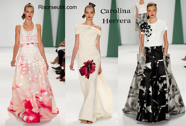 Fashion dresses Carolina Herrera spring summer 2015