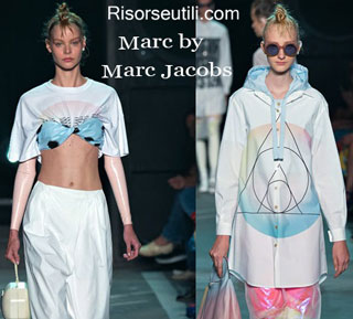 Fashion dresses Marc by Marc Jacobs spring summer 2015 womenswear