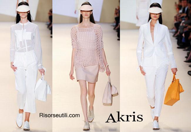 Handbags Akris and shoes Akris 2015