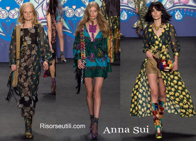 Handbags Anna Sui and shoes Anna Sui 2015