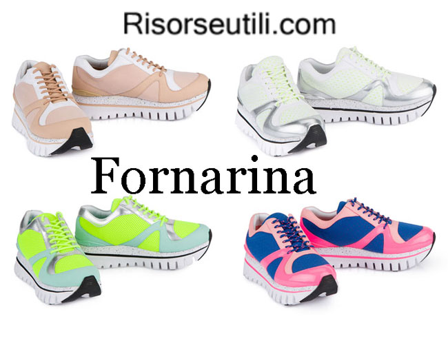 Sneakers Fornarina womenswear spring summer
