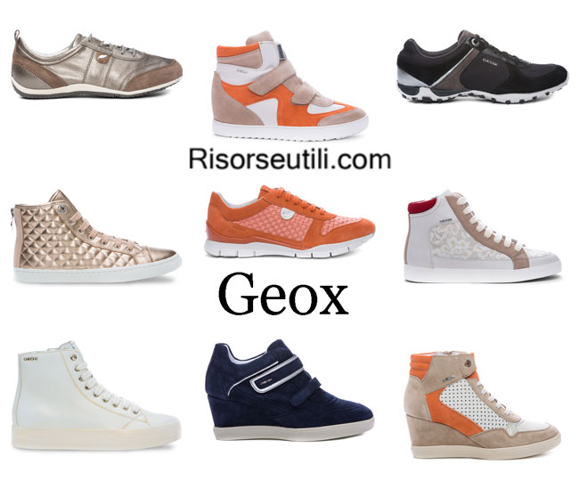 Sneakers Geox womenswear spring summer