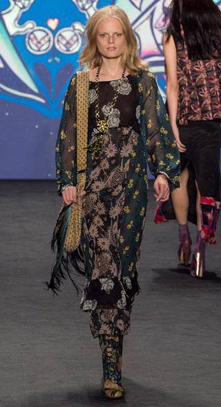 Anna Sui Spring Summer 2015 Womenswear 9