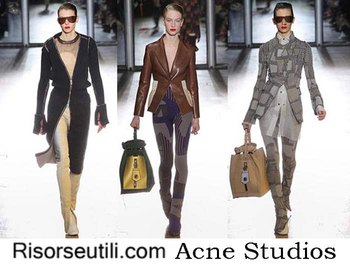 Fashion clothing Acne Studios fall winter womenswear