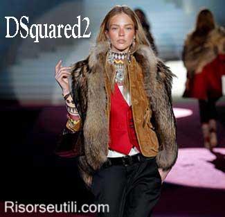 Fashion clothing DSquared2 fall winter 2015 2016 womenswear