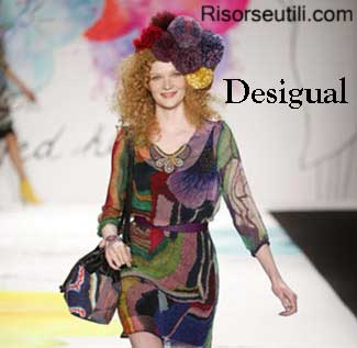 Fashion brand Desigual fall winter 2015 2016 womenswear