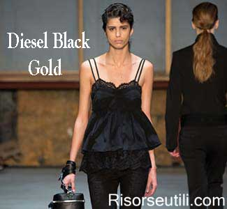 Diesel Black Gold fall winter 2015 2016 womenswear