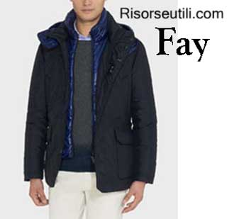 Down jackets Fay fall winter 2015 2016 menswear