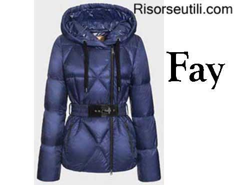 Down jackets Fay fall winter 2015 2016 womenswear