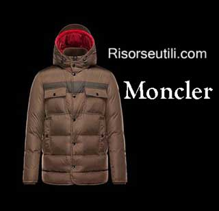 Down jackets Moncler fall winter menswear