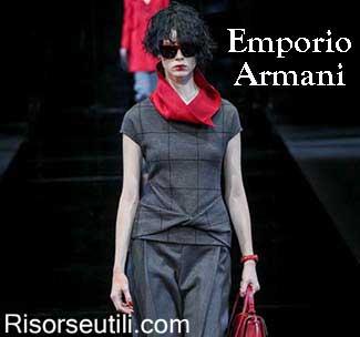 Emporio Armani fall winter 2015 2016 womenswear