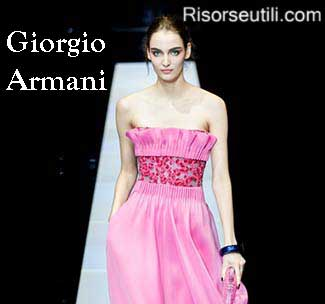 Giorgio Armani fall winter 2015 2016 womenswear