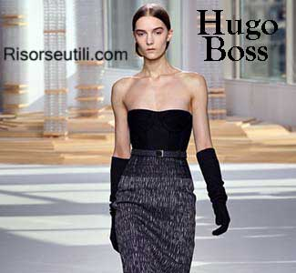 Hugo Boss fall winter 2015 2016 womenswear