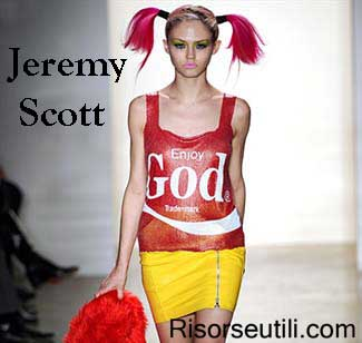 Jeremy Scott fall winter 2015 2016 womenswear