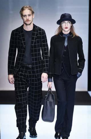Lifestyle Giorgio Armani Fall Winter 2016 2017 Look 2