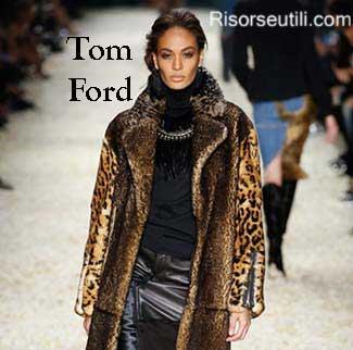 Fashion brand Tom Ford fall winter 2015 2016 womenswear