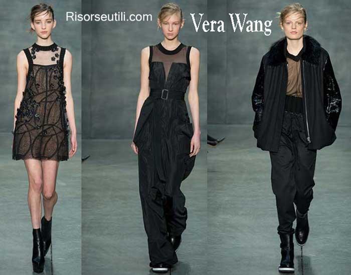Vera Wang fall winter womenswear