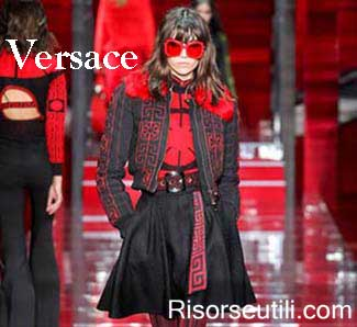 Versace fall winter 2015 2016 womenswear