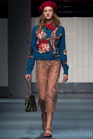 Gucci Fall Winter 2015 2016 Womenswear 9