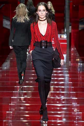 Versace Fall Winter 2015 2016 Womenswear 6