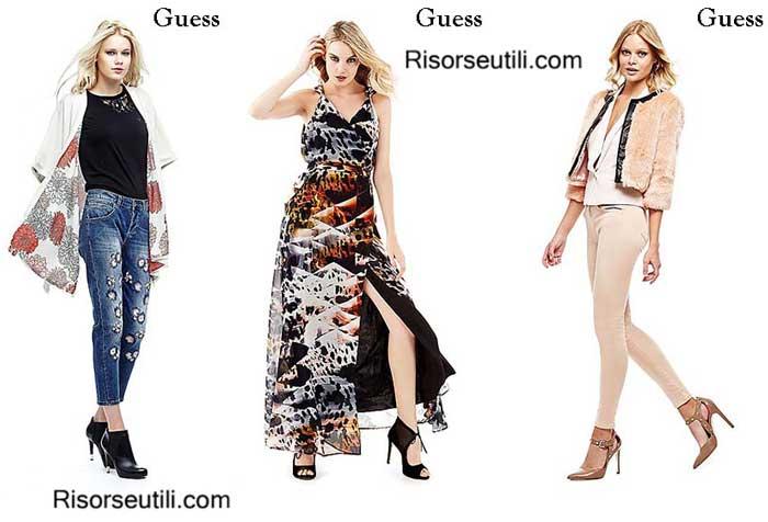 Clothing Guess fall winter womenswear
