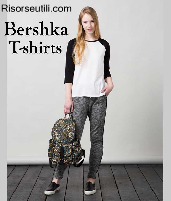 T shirts Bershka fall winter women and girls