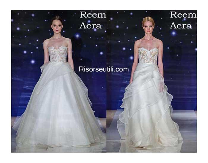Bridal Reem Acra spring summer 2016 wedding