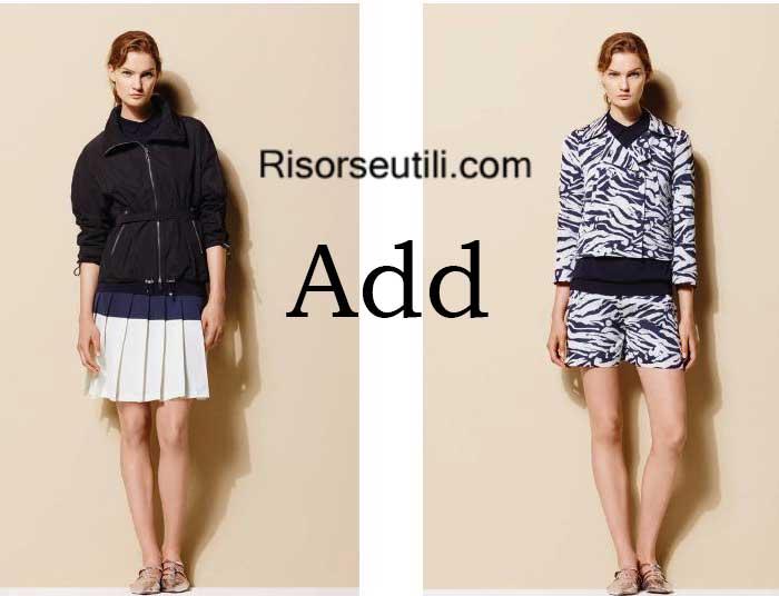Fashion brand Add spring summer 2016 womenswear