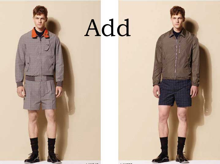Lifestyle Add spring summer Add menswear 1