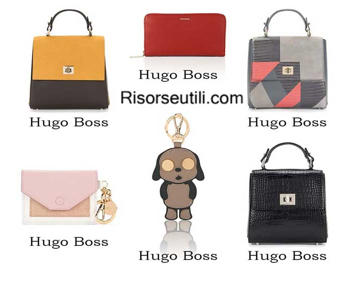 Bags Hugo Boss spring summer 2016 womenswear