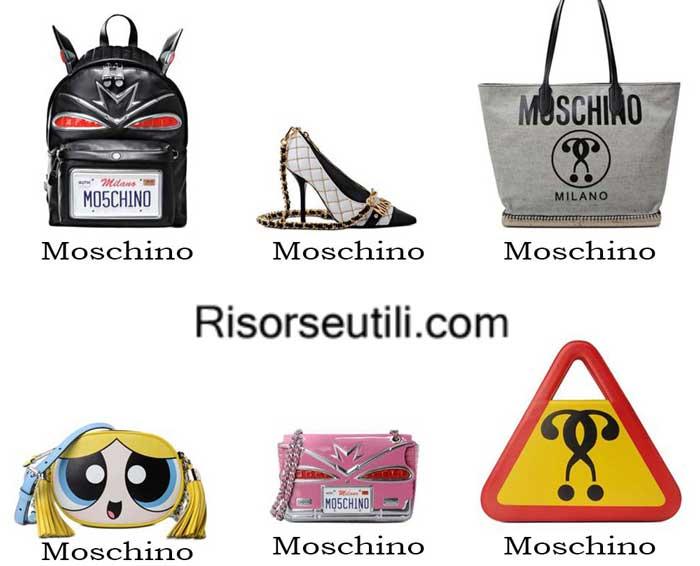 Bags Moschino spring summer 2016 womenswear