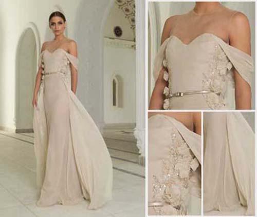 Bridal Abed Mahfouz spring summer wedding look 1