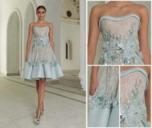 Bridal Abed Mahfouz spring summer wedding look 10