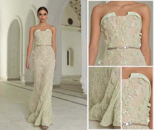 Bridal Abed Mahfouz spring summer wedding look 15
