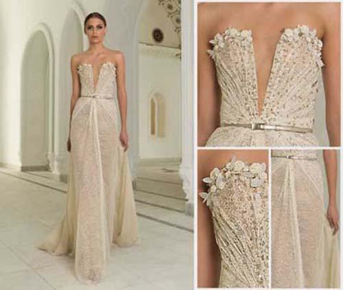 Bridal Abed Mahfouz Spring Summer Wedding Look 24
