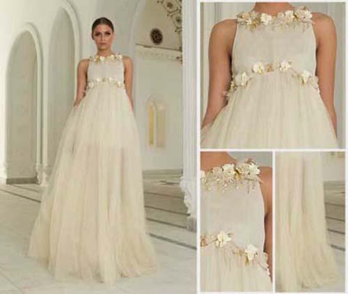Bridal Abed Mahfouz spring summer wedding look 3