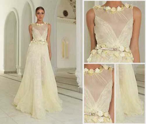 Bridal Abed Mahfouz spring summer wedding look 4