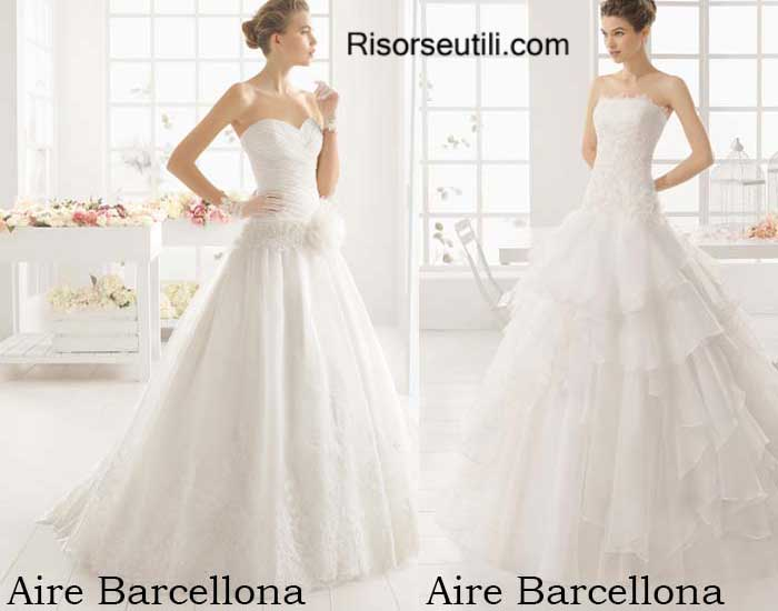 Bridal Aire Barcellona spring summer 2016 wedding