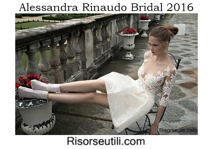 Bridal Alessandra Rinaudo spring summer 2016 wedding