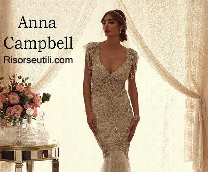 Bridal Anna Campbell spring summer 2016 wedding