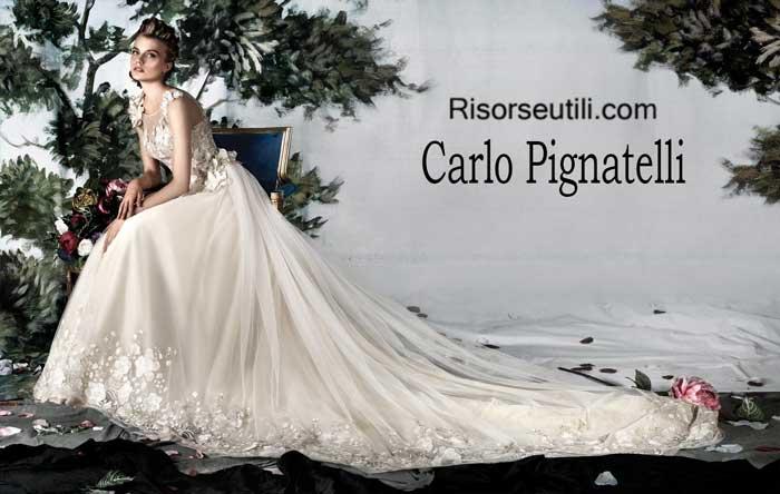 Bridal Carlo Pignatelli spring summer 2016 wedding