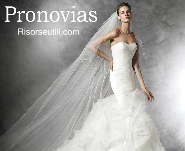 Bridal Pronovias spring summer 2016 wedding