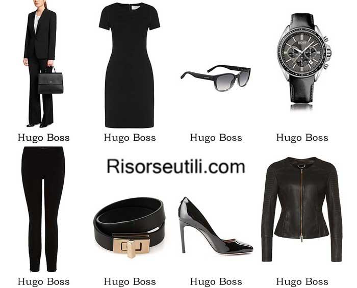 Clothing Hugo Boss spring summer 2016 womenswear